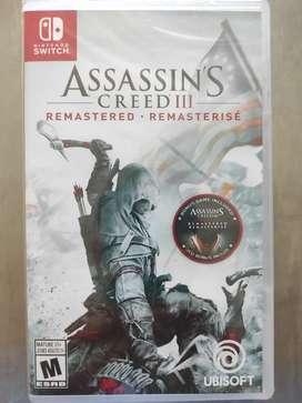 Videojuego Assassin's Creed III Nintendo Switch