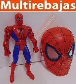 Muñeco De Spiderman Con Mascara