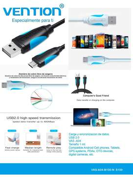 Cable Micro Usb2.0 Carga / Datos Vention