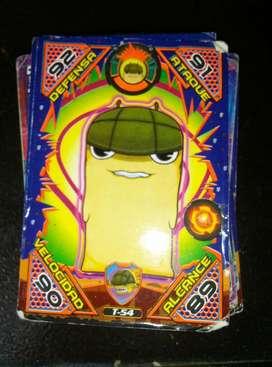 Coleccion Cards Slugterra para Coleccion