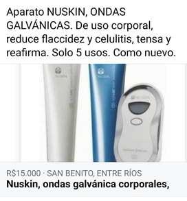 NUSKIN, ONDAS GALVANICAS