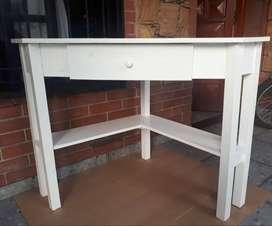 escritorio esquinero con cajon
