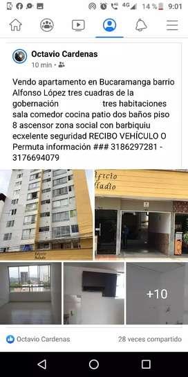 Vendo apartamento en Bucaramanga barrió Alfonso López