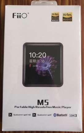 Nuevo Fiio M5 Reproductor Hi-res  Memoria Samsung 32gb Evo