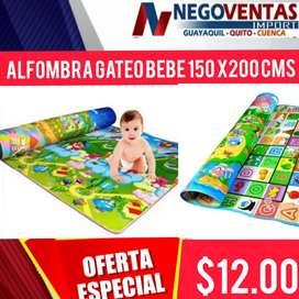 Alfombra gatea bebe 150x200cms