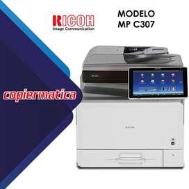 Copiadora Ricoh MP C307