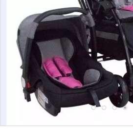 silla para carro e baby