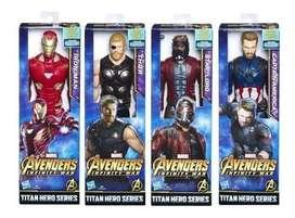 Muñecos Avengers Infinity War 30 cm Original Hasbro
