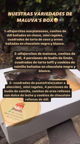 MALUVA'S BOX! CAJAS DE MERIENDA