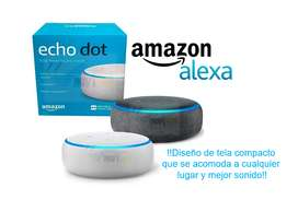 Amazon Alexa Echo Dot 3ra Generación Parlante Inteligente