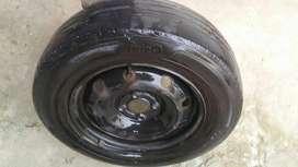 rueda logan sandero rodado 14 con cubierta