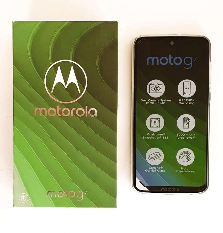 Moto G7 64 Gb Nuevo en Caja, Original 0