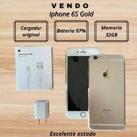 Vendo Iphone 6s. Excelente estado!