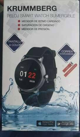 Vendo reloj Smart sumergible Krummberg