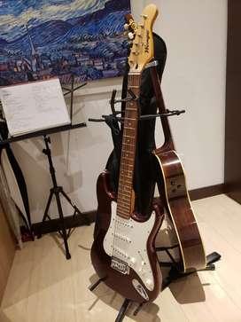 Guitarra Electrica color Vino!