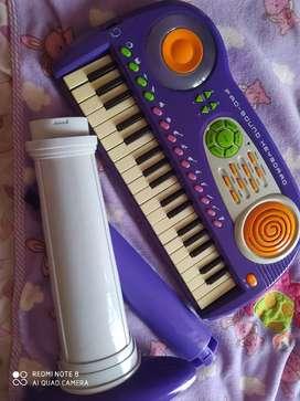 Piano didáctico con sonido