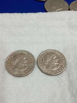 Monedas Susan B Anthony