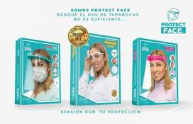 PROTECTOR FACIAL - ¡PROTECT FACE!