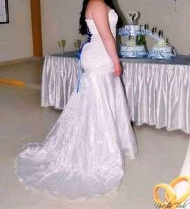 Vestido de novia con traje elegante para niño de 9 a 11 años como nuevo dos horas de uso