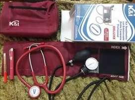 kit profesional tensiometro y estetoscopio