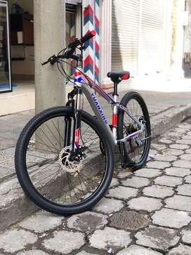 Bici rin 26 aluminio nueva