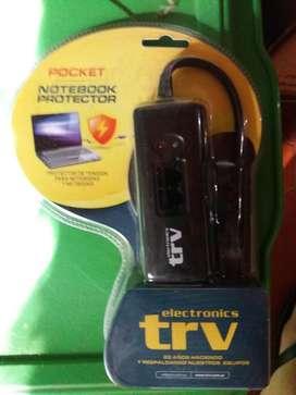 Protector filtro de tension TRV para Notebook portatil NUEVO