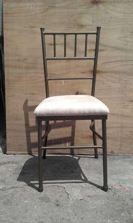 Muebles en hierro Forjado Cerrajería sillas Tiffany Puertas de acordeón rejas Mesas soldadura metal mecánica