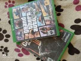 Vendo GTA v y black ops 3 para Xbox one