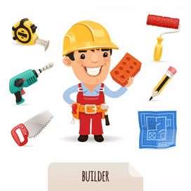 Se Busca Oficial y ayudante de construccion