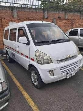 Chevrolet N300 full equipo 2013 pasajeros aire adelante y atras llantas y suspension nuevas unico dueño servicio publico