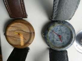 Duo de Relojes Tisot Quartz en Piedra Marmol ORIGINALES