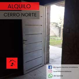Alquilo dpto Cerro Norte
