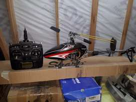 Avion rc, fpv, radio futaba, dragon link, combo