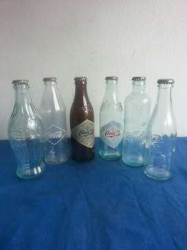 Colección Botellas de Coca Cola