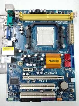 Motherboard ASRock AM2 para DDR2
