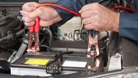 Auxilio de bateria baja o descargada recarga o arranque inmediato