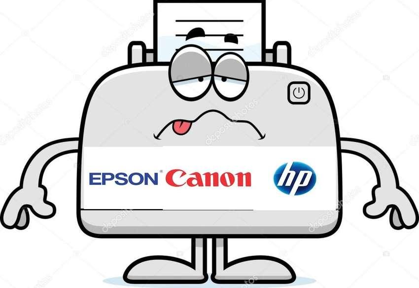 REPARACION DE IMPRESORAS EPSON HP Y CANON 0