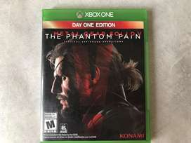 Metal Gear Solid The Phantom pain XBOX ONE