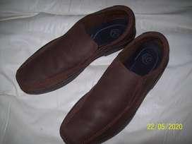 Zapatos De Cuero Free Confort - Talle 45