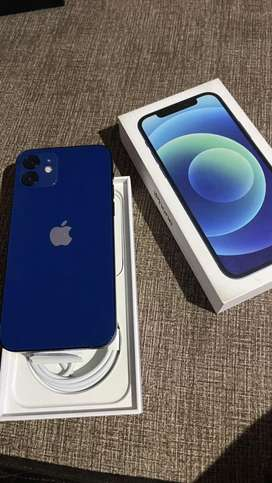 Vendo iphone 12 blue de 64 gb