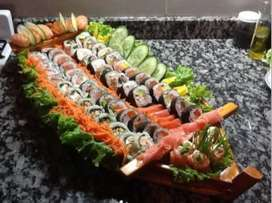Sushi Tu Mejor Presentacion En Barcos, Escaleras, Puentes