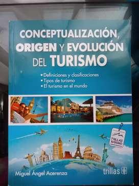 Libro Conceptualizacion, origen y evolución del turismo, Trillas