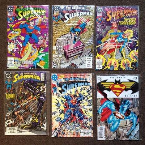 Revistas Comics Americanas En Inglés Tengo Superman Bizarro 0
