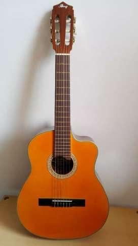 Guitarra puntera nueva