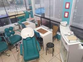 Mobiliario para salon de belleza
