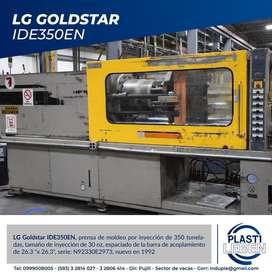 Maquina Inyectora De Plástico - Lg Goldstar Ide350en