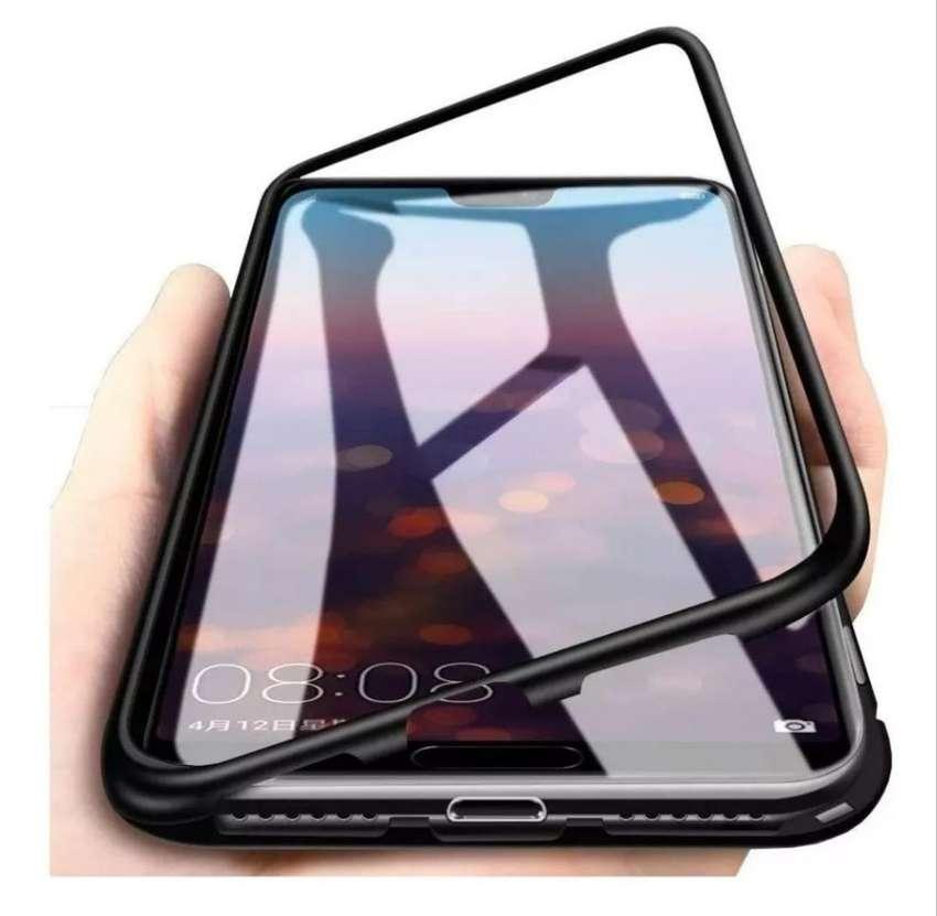 Case Magnético con bordes de aluminio Huawei P20 Lite Pro/P30 Lite Pro 0