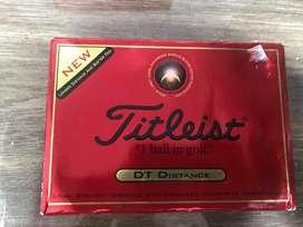 Vendo bolas de golf  marca Titleist