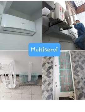 Se realiza mantenimiento preventivo y correctivo de Aires acondicionados instalaciones ventas de equipos