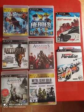 Juegos PS3 Originales